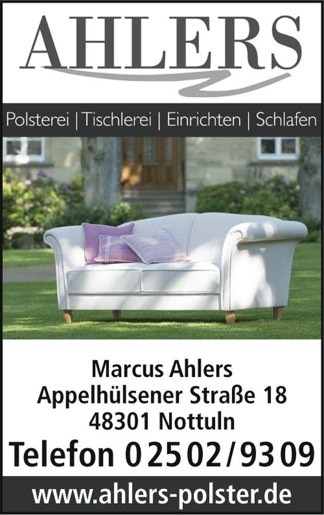Ahlers Nottuln ahlers in 48301 nottuln möbel polstereien tischlereien